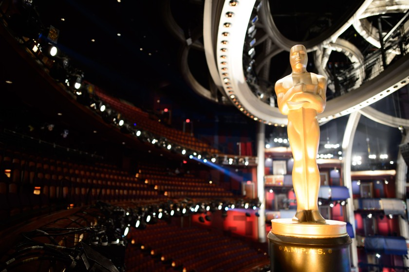 Preparations continue Wednesday February 24, 2016 for the 88th Oscars® for outstanding film achievements of 2015 which will be presented on Sunday, February 28, 2016 at the Dolby® Theatre and televised live by the ABC Television Network.
