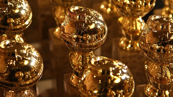 The new 2009 Golden Globe statuettes are on display during an unveiling by the Hollywood Foreign Press Association at the Beverly Hilton Hotel on January 6, 2009 in Beverly Hills, California. The 66th annual Golden Globe Awards are scheduled for January 11. (Photo by Alberto E. Rodriguez/WireImage)